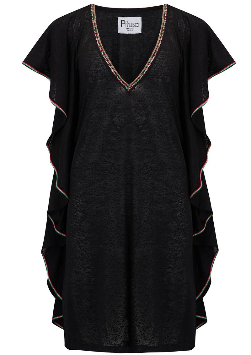 b62a4a99e49 Flare Mini Dress - Black main image