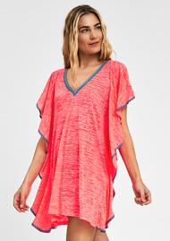 PITUSA Flare Mini Dress - Hot Pink