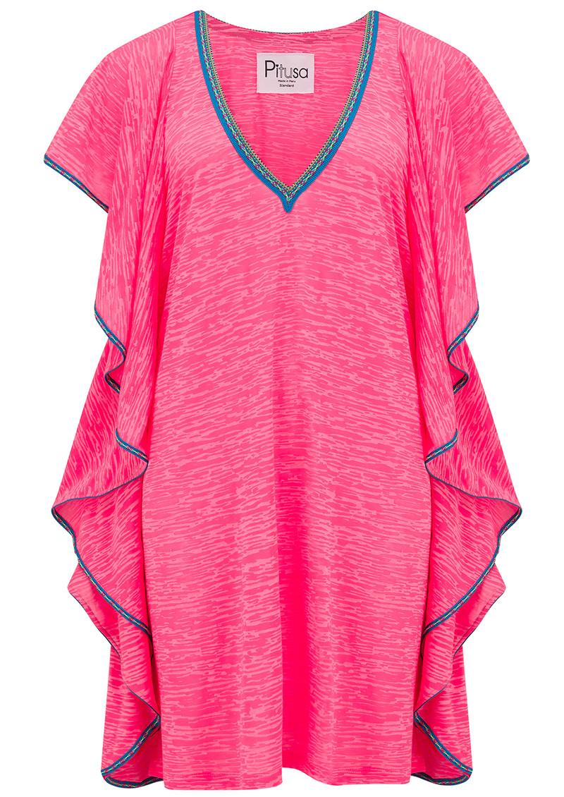 2163399e1dd Flare Mini Dress - Hot Pink main image