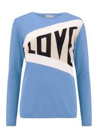 ORWELL + AUSTEN Love Cashmere Jumper - Baby Blue