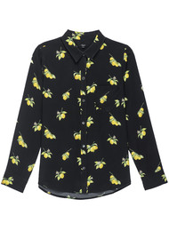 Rails Kate Silk Shirt - Lemons