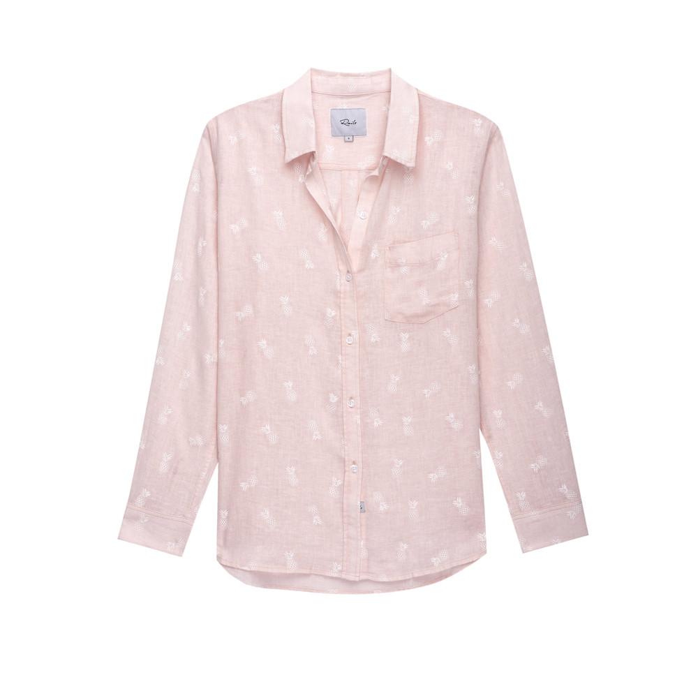 Charli Shirt - White Pineapple