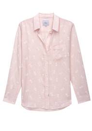 Rails Charli Shirt - White Pineapple
