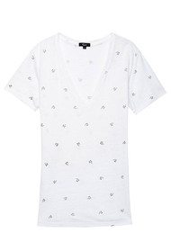 Rails Cara Tee - Black Palms