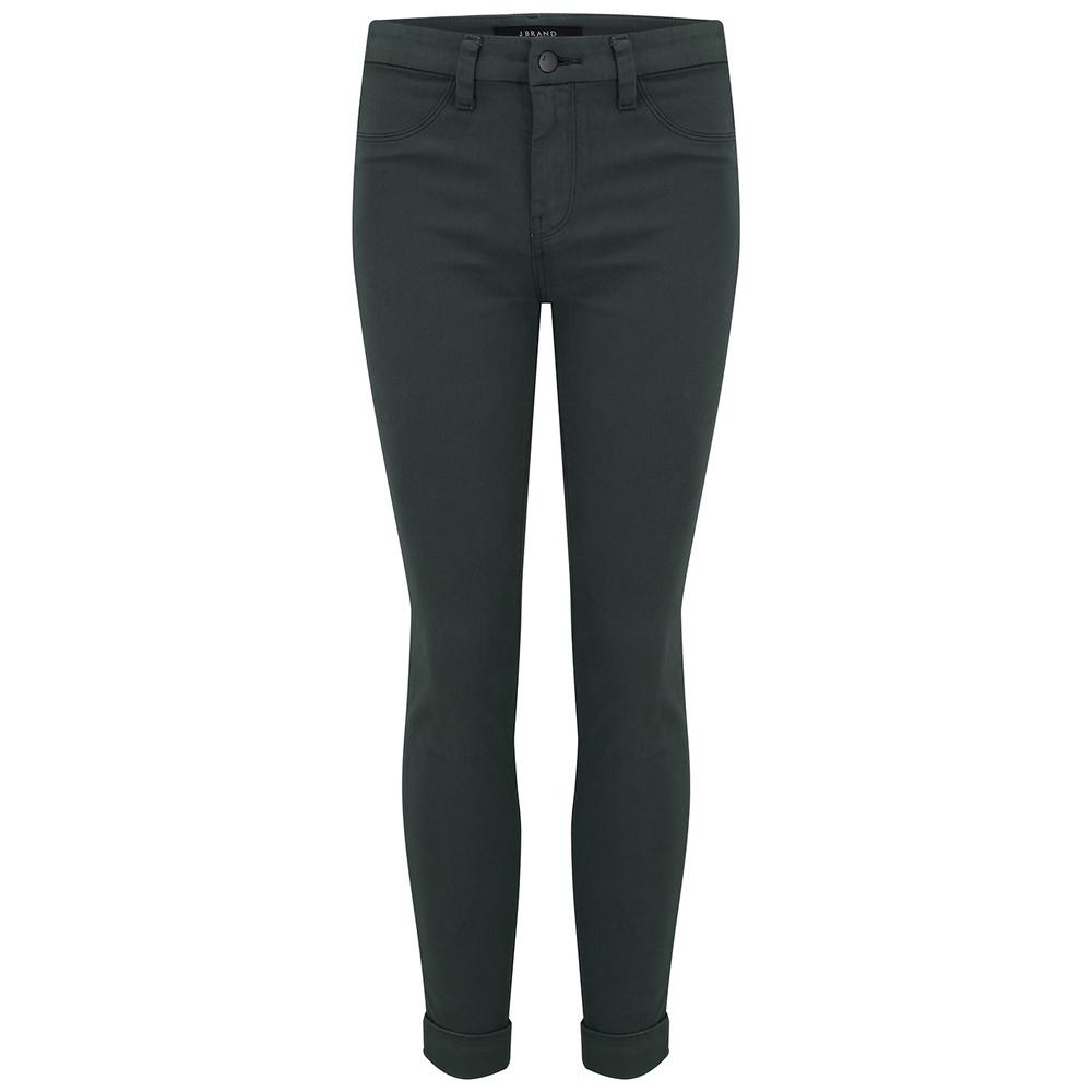 Anja Clean Cuffed Crop Jeans - Granite