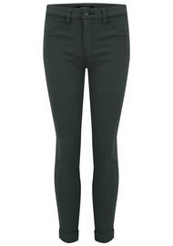 J Brand Anja Clean Cuffed Crop Jeans - Granite