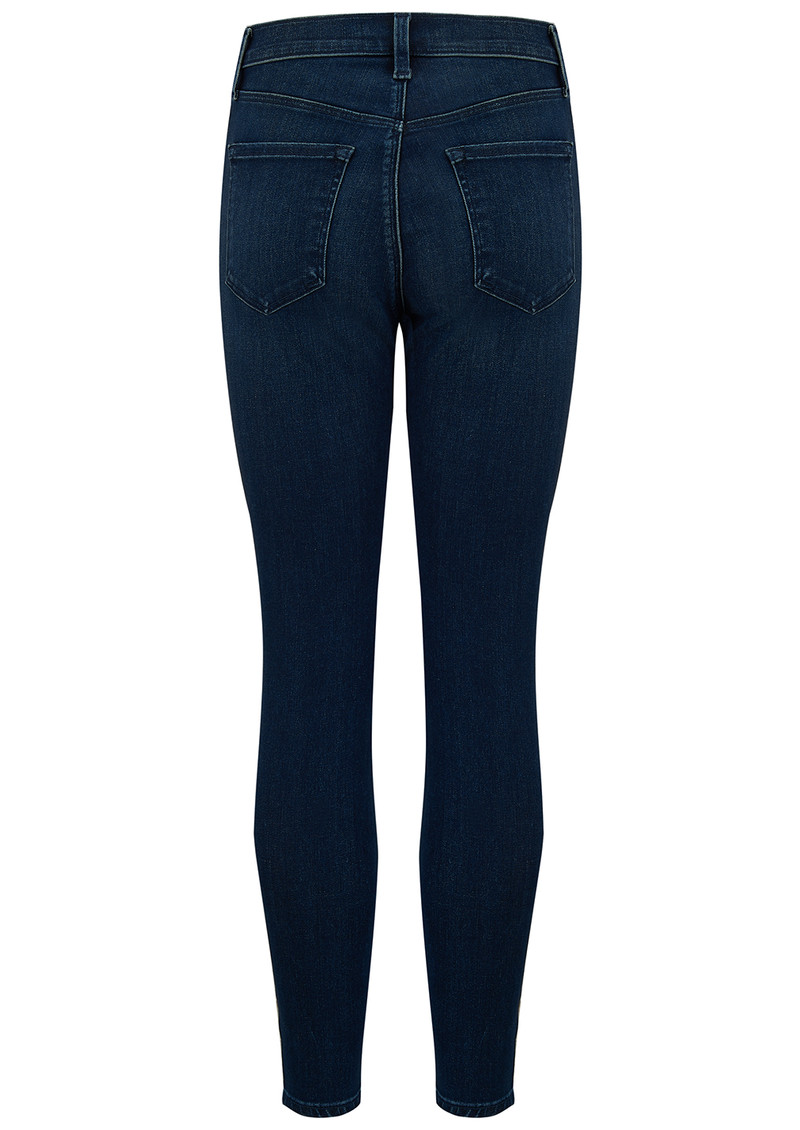 J Brand Alana High Rise Crop Skinny Jeans - Fix main image