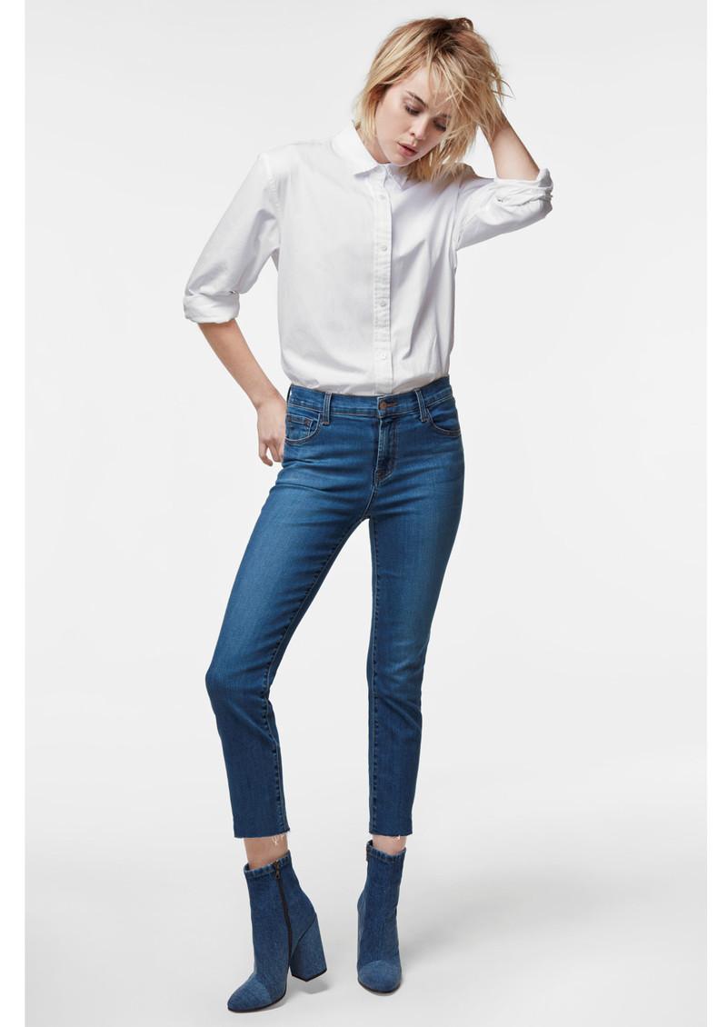 J Brand Ruby 30 High Rise Cigarette Leg Jeans - Lovesick main image