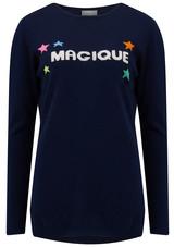 ORWELL + AUSTEN Magique Sweater - Navy f8640bb84