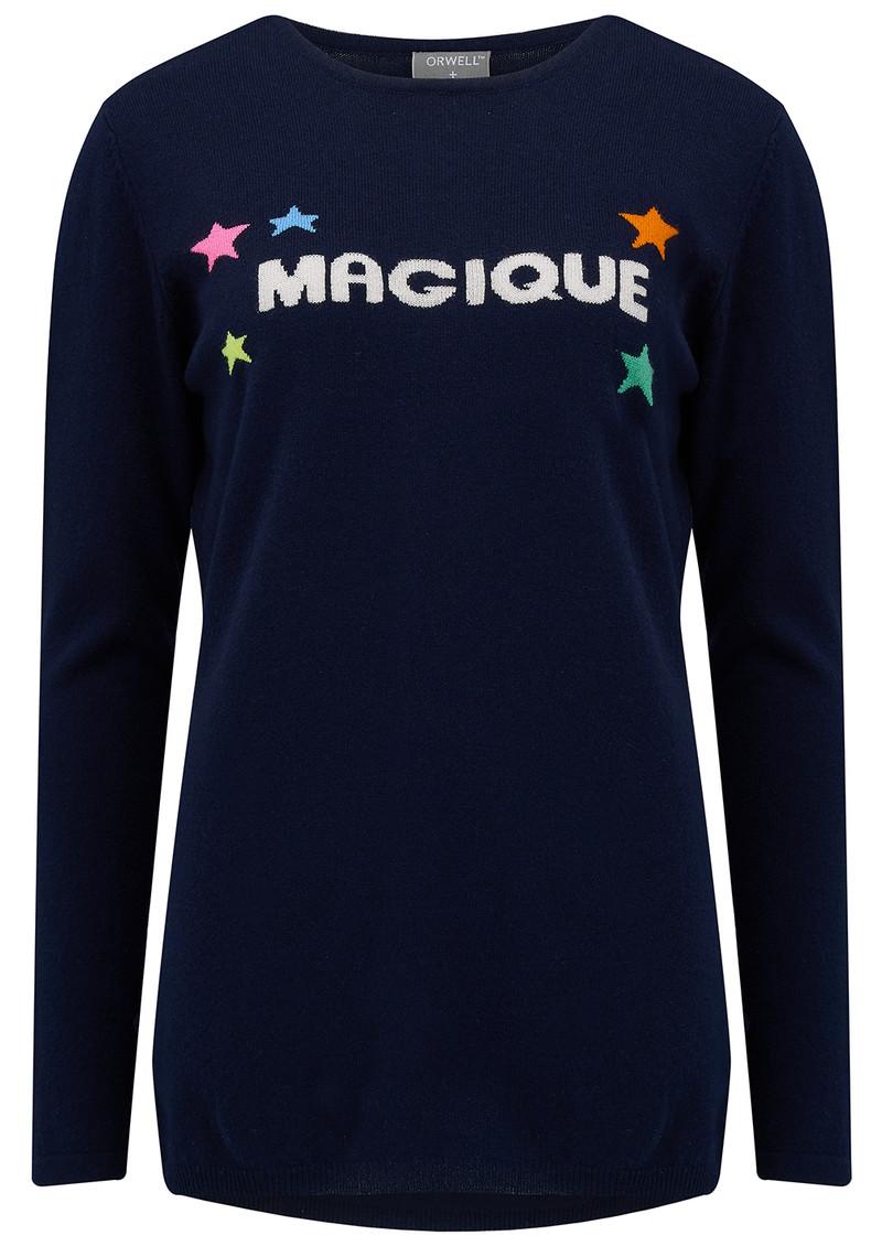 ORWELL + AUSTEN Magique Sweater - Navy main image