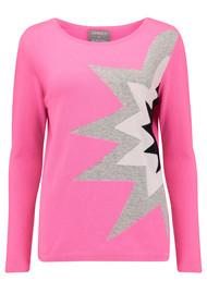 ORWELL + AUSTEN Starburst Sweater - Pink