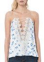 CAMI NYC Charlie Charmeuse Camisole - Floral