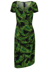NORMA KAMALI Sweetheart Dress - Palm Leaf