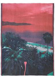 Becksondergaard Beacher Scarf - Geranium Pink
