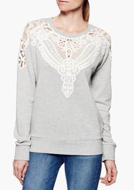 Paige Denim Eilise Sweater - Heather Grey