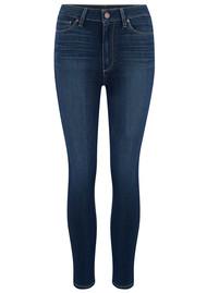 Paige Denim Margot Crop Ultra Skinny Jeans - Sawtelle