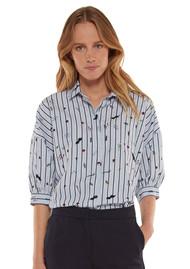 ESSENTIEL ANTWERP Rash Embroidered Shirt - Stratos