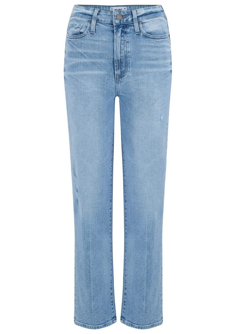 Paige Denim Margot Straight Leg Jeans - Pasadena main image