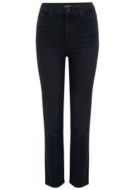 Paige Denim Margot Straight Leg Jeans - Film Noir