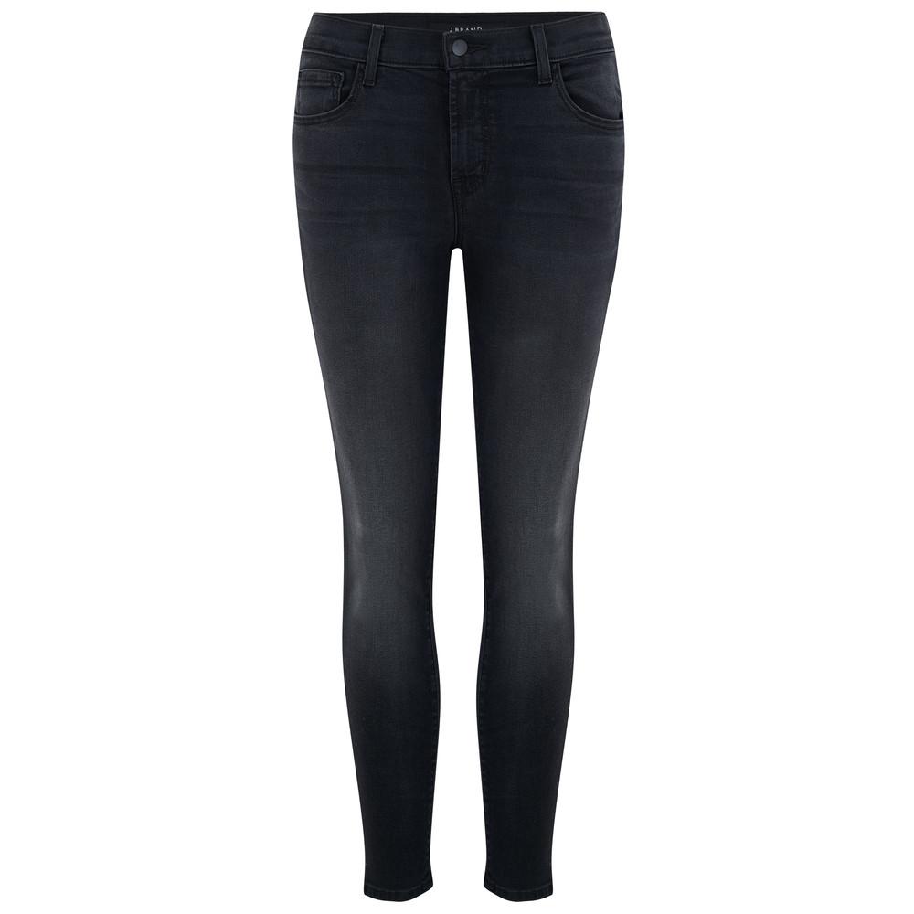 Mid Rise Capri Skinny Jeans - Nevermore