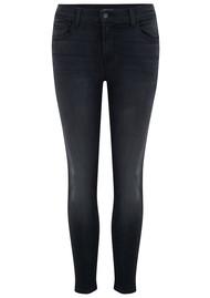 J Brand Mid Rise Capri Skinny Jeans - Nevermore
