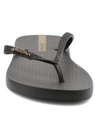 Ipanema Lolita Glitter Flip Flops - Black