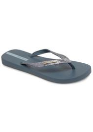Ipanema Lolita Glitter Flip Flops - Blue