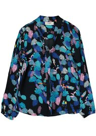 Pyrus Jamie Silk Blouse - Forest Life