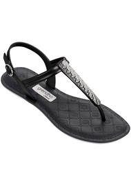 Ipanema Sense Metallica Sandals - Black