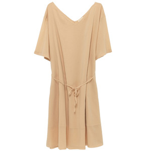 Ybanut Cotton Dress - Shell