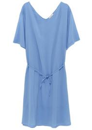 American Vintage Ybanut Cotton Dress - Cornflower