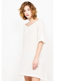 American Vintage Ybanut Cotton Dress - Shell