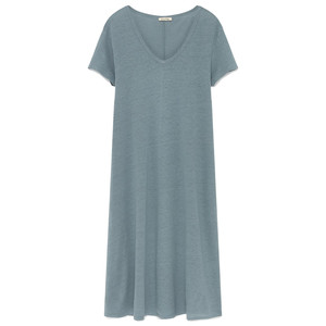 Lolosister Linen Dress - Ice Pack