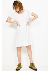 American Vintage Lolosister Linen Dress - Ice Pack
