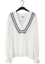Twist and Tango Kendall Blouse - White