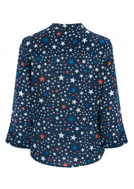 Pyrus Exclusive Hive Blouse - Stars Navy