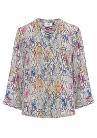 Pyrus Exclusive Hive Blouse - Python Multi