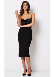 BEC & BRIDGE Brooke Tie Dress - Black