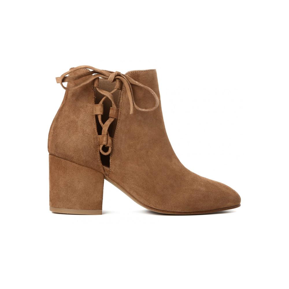 Else Suede Boots - Tan