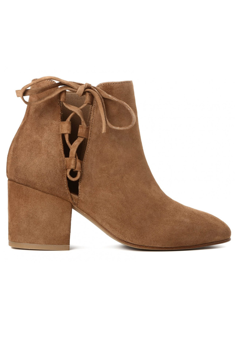 Else Suede Boots - Tan main image