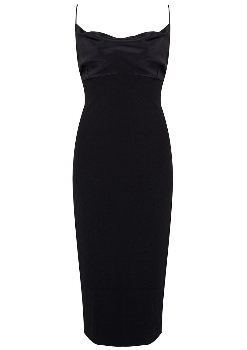 BEC & BRIDGE Brooke Tie Dress - Black main image