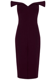 BEC & BRIDGE Cindy Off The Shoulder Dress - Wine