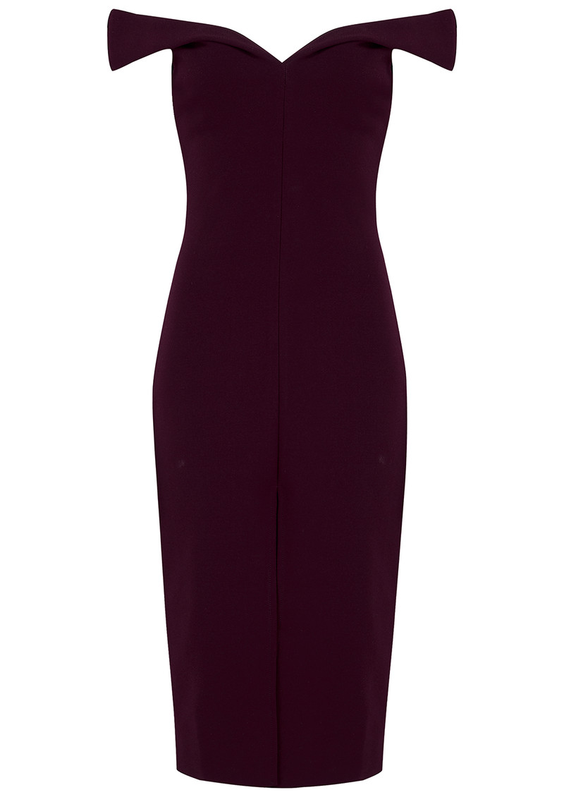 BEC & BRIDGE Cindy Off The Shoulder Dress - Wine main image