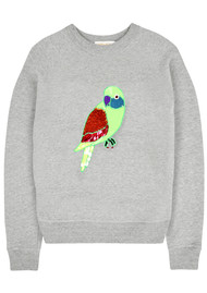 UZMA BOZAI Polly Parrot Sweatshirt - Grey