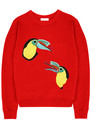 Mia Toucan Sweatshirt - Scarlet additional image