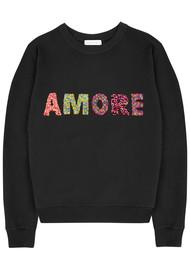 UZMA BOZAI Amore Sweatshirt - Black
