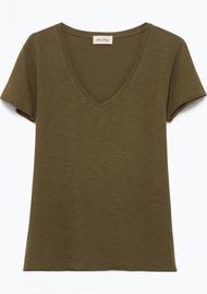 American Vintage Jacksonville Short Sleeve T-Shirt - Jungle
