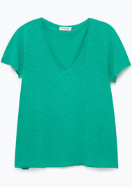 American Vintage Jacksonville Short Sleeve T-Shirt - Water Mint
