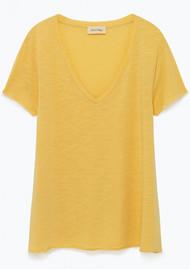 American Vintage Jacksonville Short Sleeve T-Shirt - Gold
