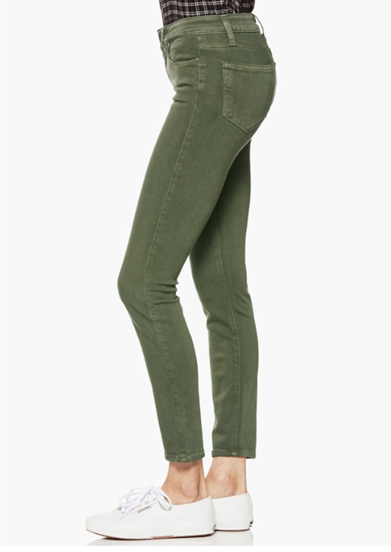 Paige Denim Verdugo Ankle Ultra Skinny Jeans - Vintage Forest Night main image